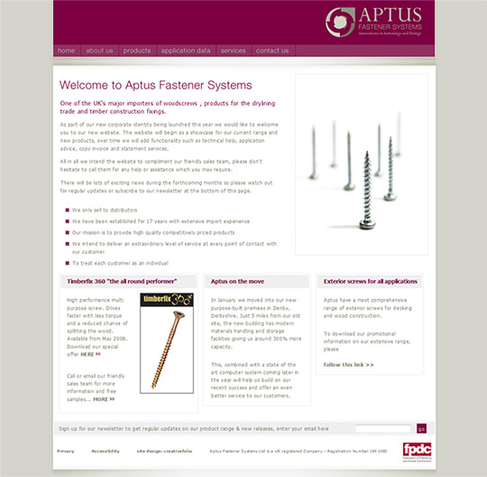 more for Aptus Fastener Systems