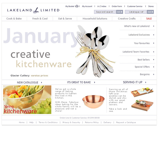 A fresh new look for Lakelands main site